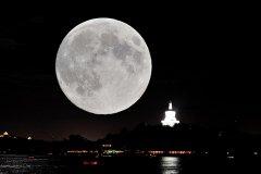 形容一夜没睡的句子 长夜漫漫唯有月亮和我相伴