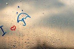 下雨天朋友圈说说配图 冬天下雨发朋友圈的句子
