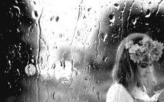 外面下雨了的心情说说
