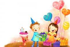 小孩生日祝福语八个字 儿童生日祝福语唯美8个字