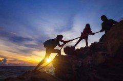 一句话爬山感悟 登山心情发朋友圈句子
