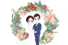 新婚快乐祝福语八字 新婚快乐的简单句子