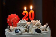 20岁生日祝福语女孩 祝女儿20岁生日短句
