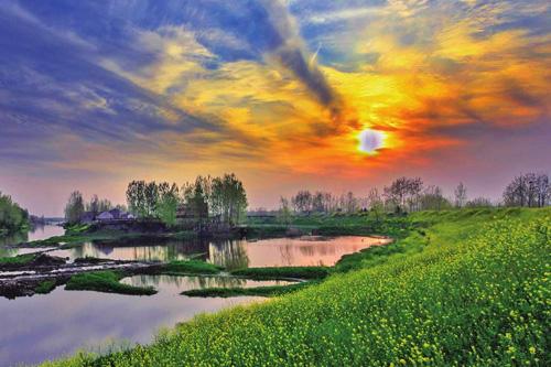 家乡风景短语句子 赞美家乡的唯美短句
