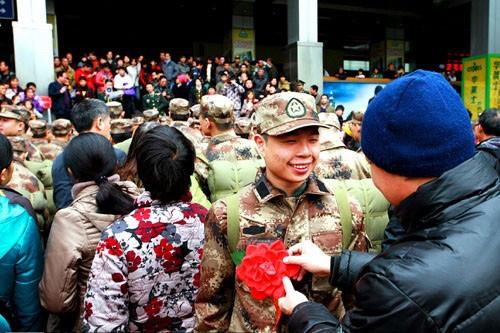 送当兵祝福的话最佳 家人送给新兵祝福的话