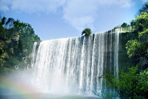 瀑布像什么-描写瀑布像什么比喻句