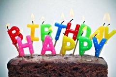 五岁生日简短寄语-生日祝福语大全简短
