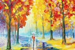 秋天的雨是什么比喻句 秋天的雨写一个比喻