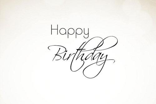 生日快乐英文祝福语- 生日快乐英文祝福语大全