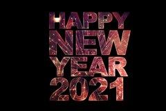 2021年新年祝福词 2021新年贺词简短