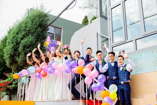 新婚快乐祝福语朋友圈-祝朋友新婚快乐祝福语
