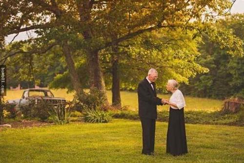 赞美一对幸福的老夫妻 赞美一对夫妻恩爱的句子