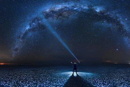 浪漫星空语句-关于星空的唯美句子大全